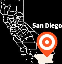 Service Area - San Diego